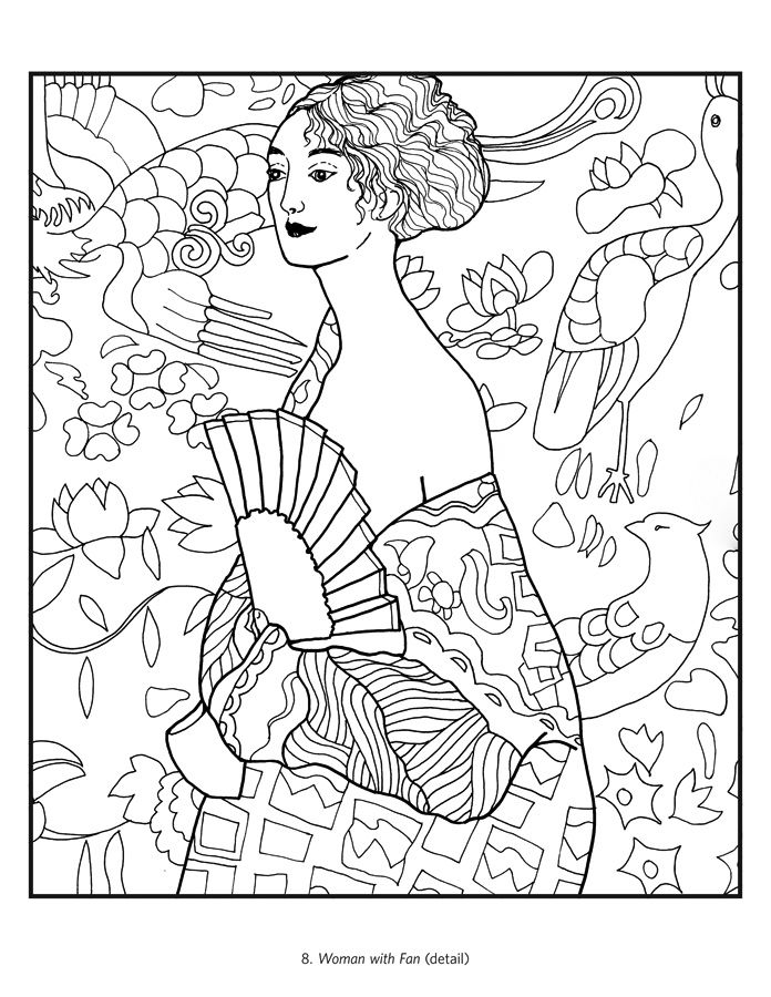 masterpieces coloring pages - photo#5