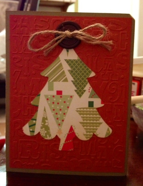 home made christmas cards are so much more special