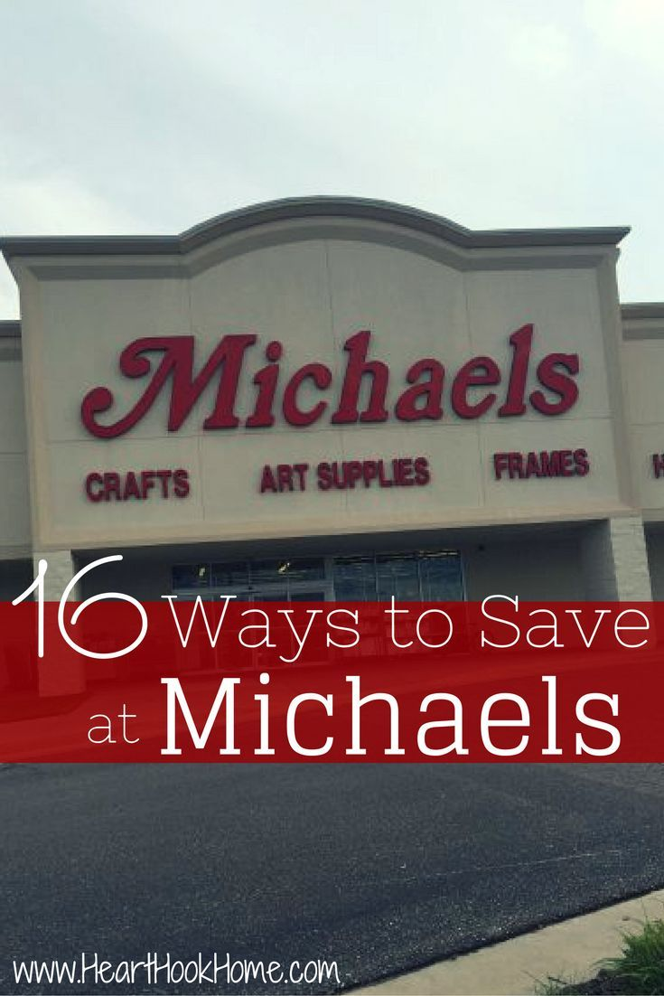 money saving secrets michaels