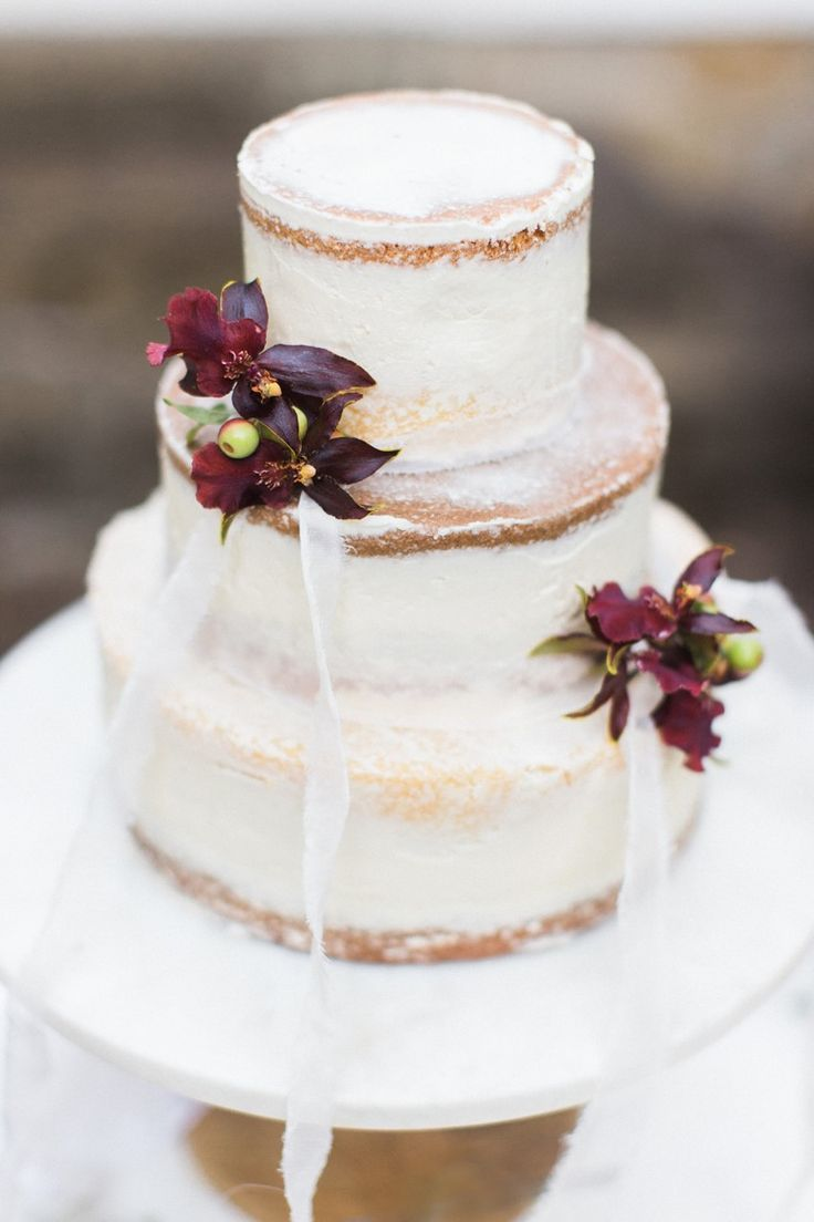 190 best naked wedding cakes images on pinterest