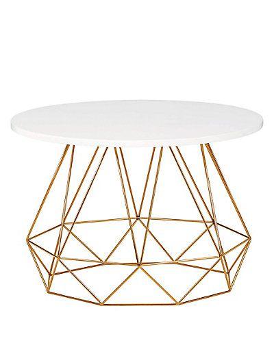 Lena Copper Coffee Table | M&S