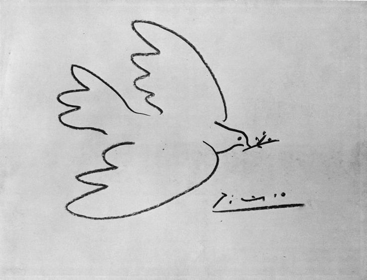 "Pablo Picasso, ""Colombe de la paix"" (1850) © RMN-Grand Palais / Agence Bulloz ©…"