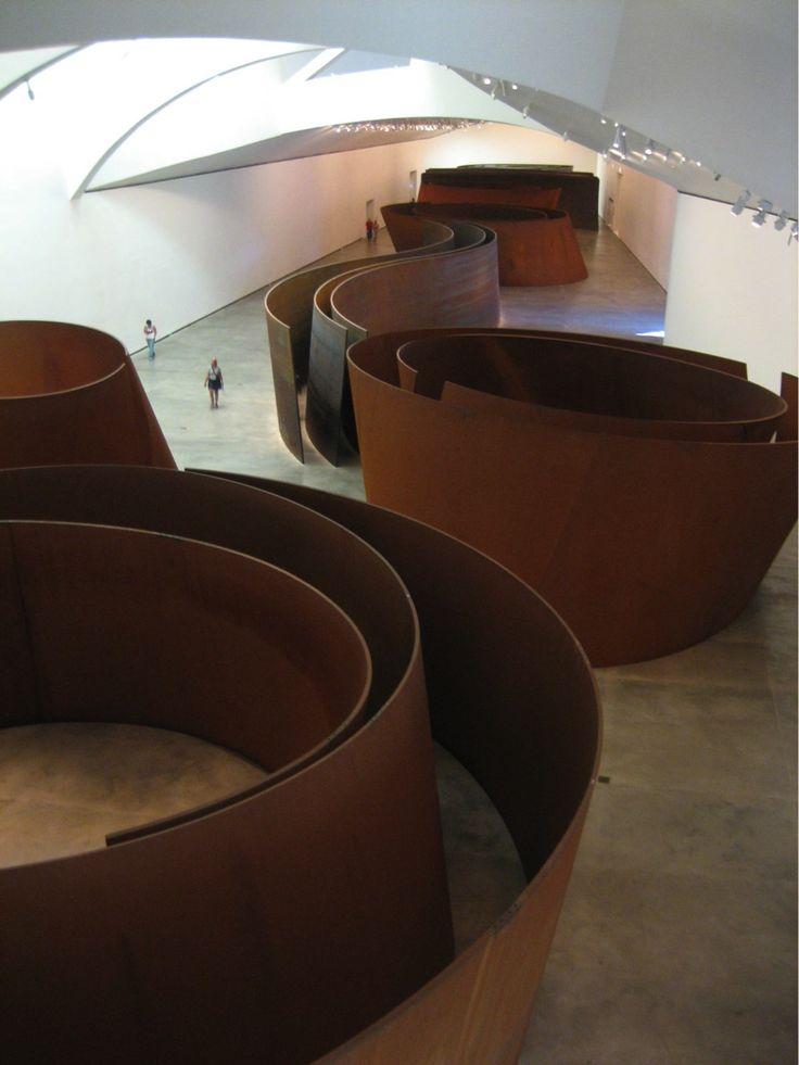 project:Museum of Art Location:Los Angeles, USA designer:RICHARD SERRA date:2007Titanium