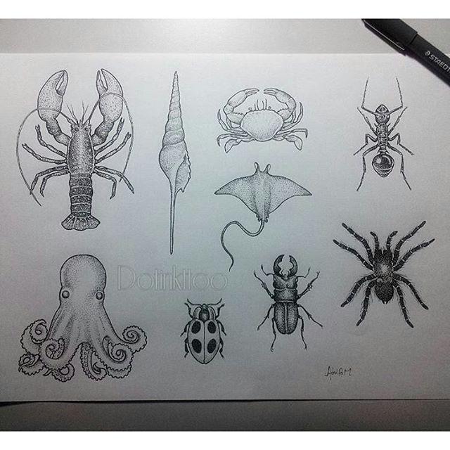 #mulpix @Regrann from @dotinkttoo -  Mais alguns desenhos disponiveis para…