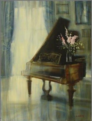 Musical Salons by Catherine Coren French Painter