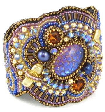 Wild Blue Bracelet by Ann Benson ...