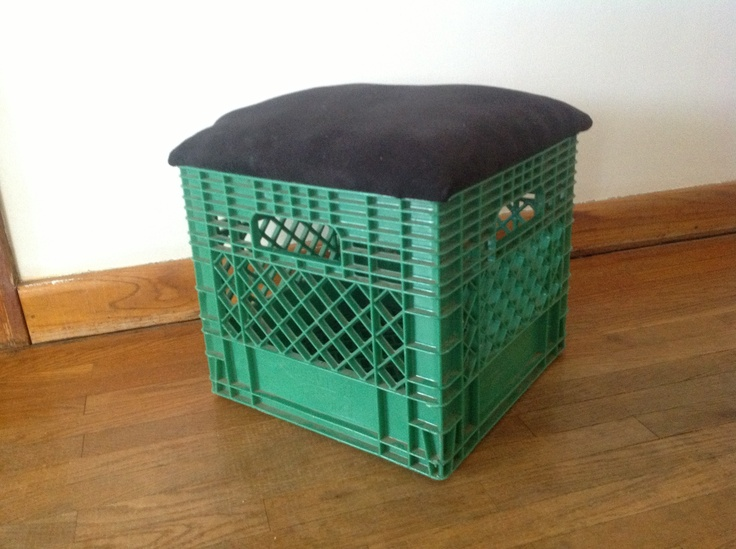 Diy Milk Crate Chair :)