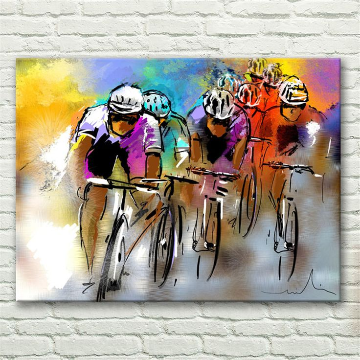 Cheap Bicicleta Carrera Deportiva Multicolor Caracteres Abstractos Pegatinas de Pared Imagen de Arte Decoración de La Pared de Lona Pintura Al Óleo Moderna HD1407, Compro Calidad Pintura y Caligrafía directamente de los surtidores de China: Productos relacionados:2pcs/lot Minimalist Black White Motivational Love Quotes Poster Print Vintage Picture Canvas Pain