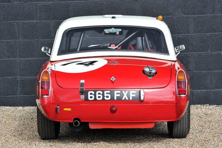 1963 MG B Classic Driver Market Classic racing cars