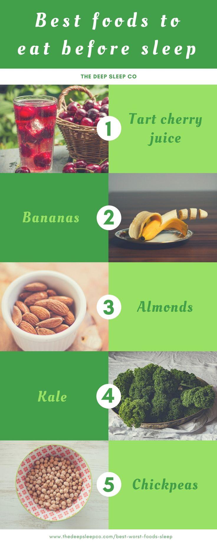 Foods that help you sleep. #sleep #food #diet #nutrition