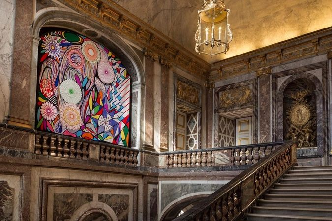 """Vitral"", Tapeçaria de Portalegre de Joana Vasconcelos, Palácio de Versalhes"