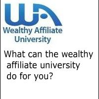 What the Wealthy Affiliate University Can Do for You.  Check out the newest article about how the Wealthy Affiliate University can change your life!!