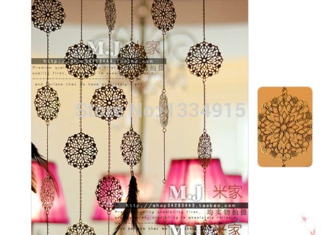 送料無料完成品100メートル金属花クリスタルビーズカスタマイズすることができ装飾クリスタルカーテンポーチパーティションドアカーテン