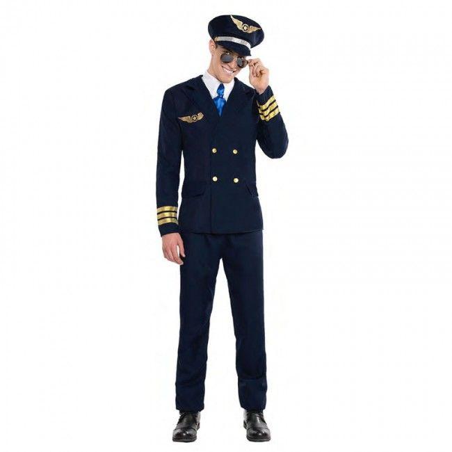 Disfraz de Piloto de Avión para hombre #disfraces #carnaval #novedades2017