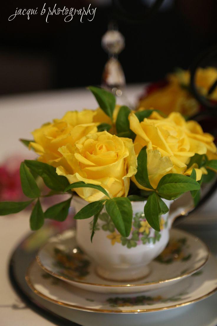 Teacups by Buds n Roses, Pakenham