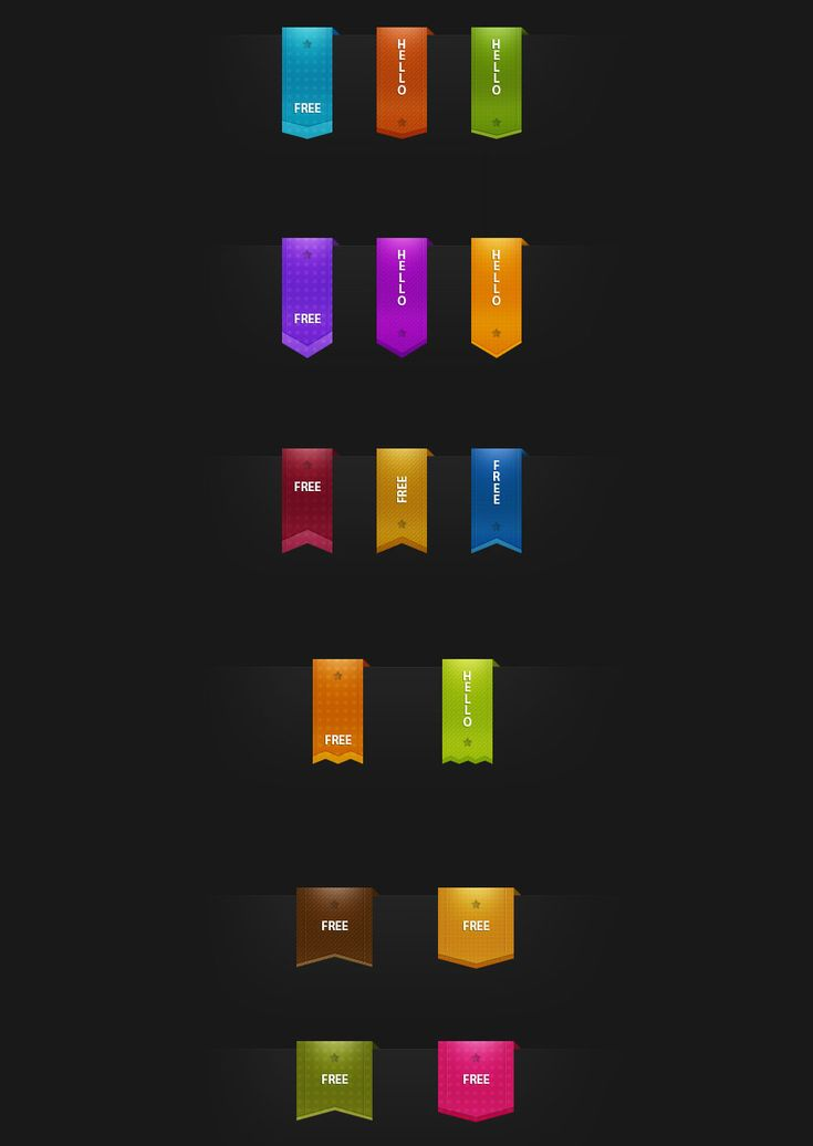 Free Vertical Ribbons