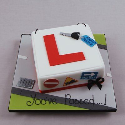 YouPassedDriver You Passed - Learner Driver Cake