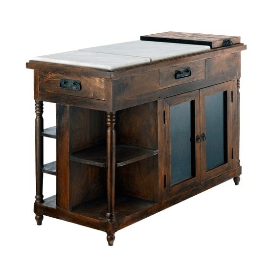 1000+ images about Kitchen Trolley Carts, Kitchen Islands  Carts on Pinterest  Wood kitchen