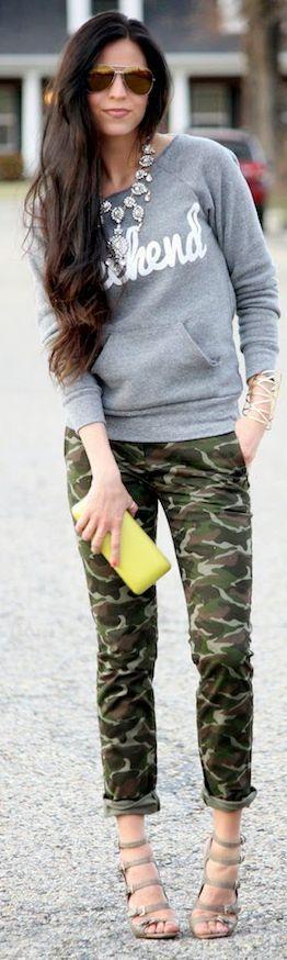 Ily Couture Weekend Eco Grey Sweatshirt We've got this too!! #love it!! Bellachic.ca