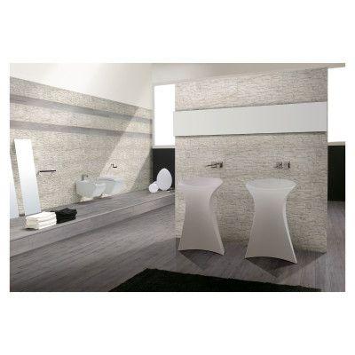 Pavimenti e rivestimenti-Rivestimento decorativo Granito Carrara bianco-35561666