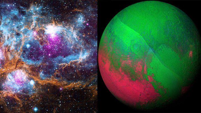 Keren! Galaksi Ini Juga Turut Rayakan Natal di Ruang Angkasa! Lihat Fotonya