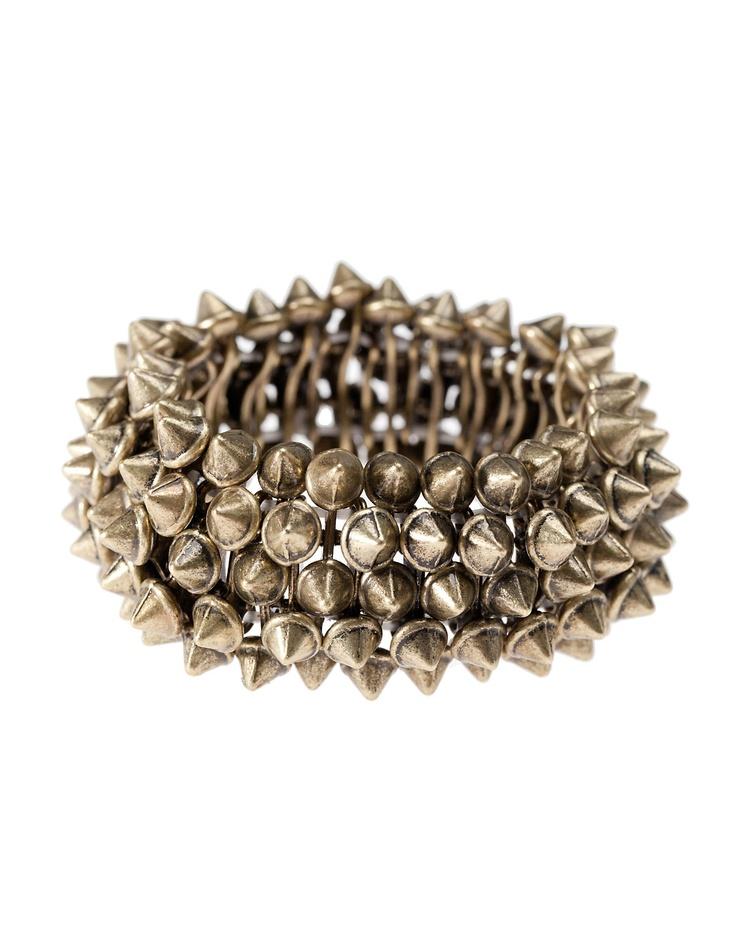 Braccialetto elastico con punte