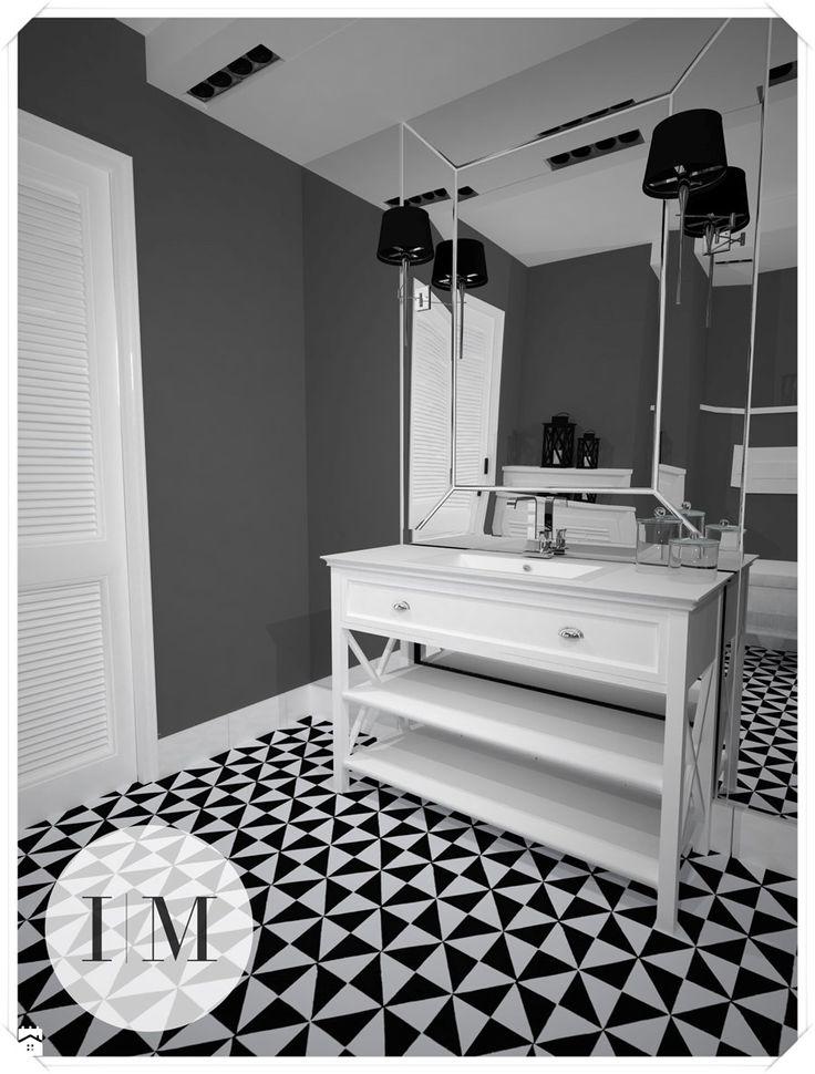 Projekt łazienki w Białymstoku - Łazienka - zdjęcie od Interior Maker wnętrza
