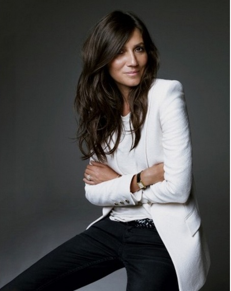 Emmanuelle Alt- Gorgeous when she's all done up.
