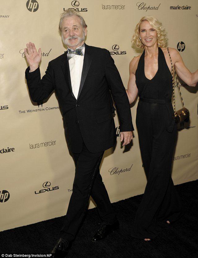 Bill Murray and Kelly Lynch