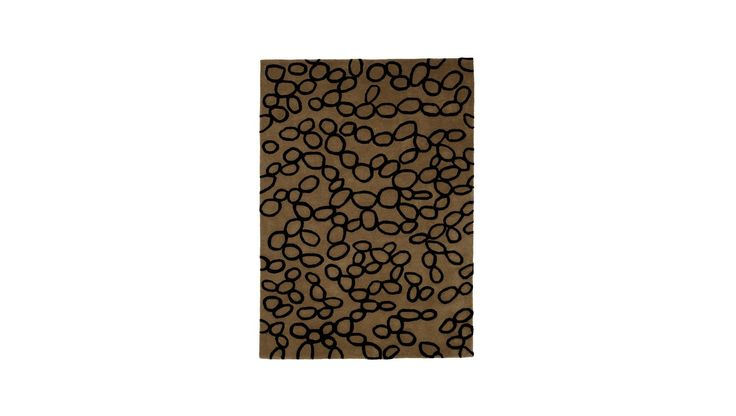 Nanimarquina, Ovo Brown Rug, Buy Online at LuxDeco 200x300 £2,380