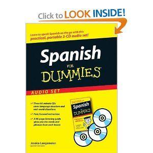 Spanish For Dummies Audio Set: Jessica Langemeier: 9780470095850: Amazon.com: Books