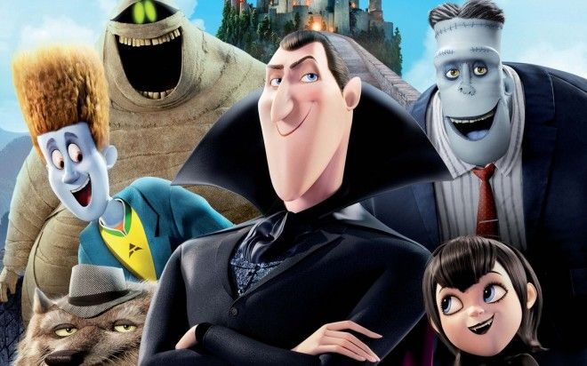 Sponge's fav animated movie of all time is .... Hotel Transylvania