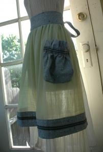 Hippy Long Stockings - I Luv Summer Free Apron Pattern