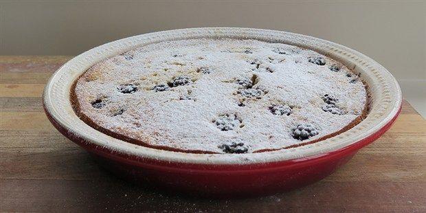 Blackberry Clafoutis from River Cottage Australia