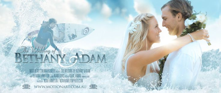 """Video highlights from the wedding of 'Soul Surfer' Bethany Hamilton and Adam Dirks from their amazing day on the north shore of Kauai, Hawaii.    Song:  """"You Are…"""