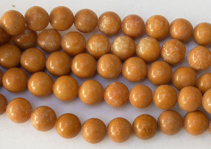 Yellow Jasper Beads 8mm Round