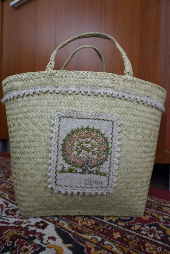 Bag with spirn tree gift for a girl tote bag for you on от MyZLATA
