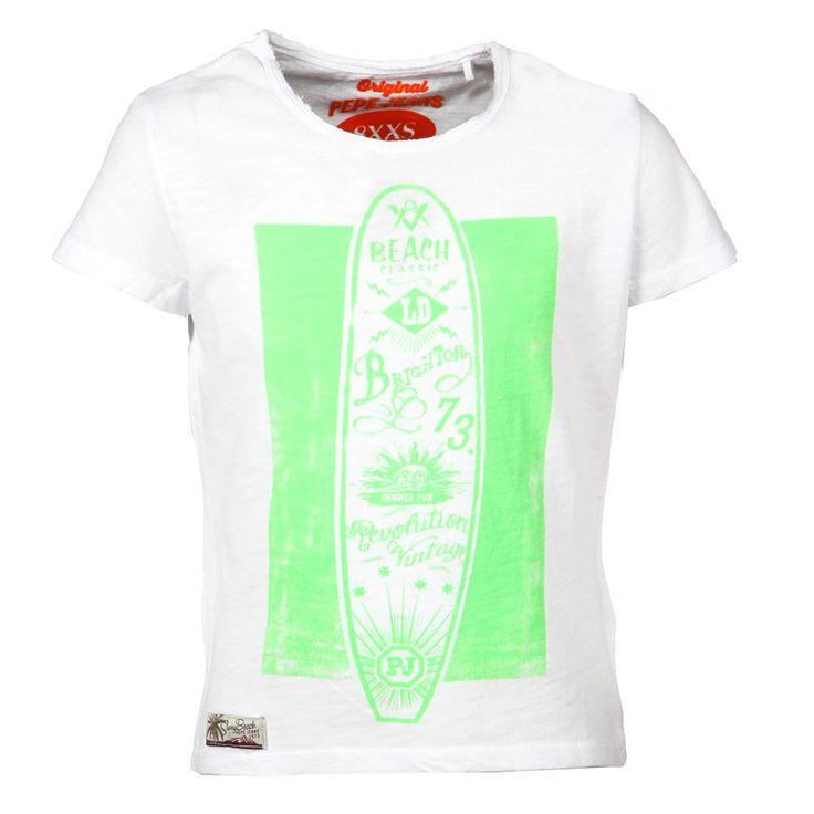 Kindermode Zomer | Pepe Jeans jongens t-shirt | www.kienk.nl