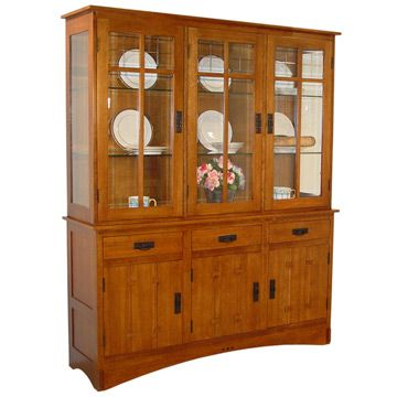 houston craftsman mission hutch style furniture dining amish hutches