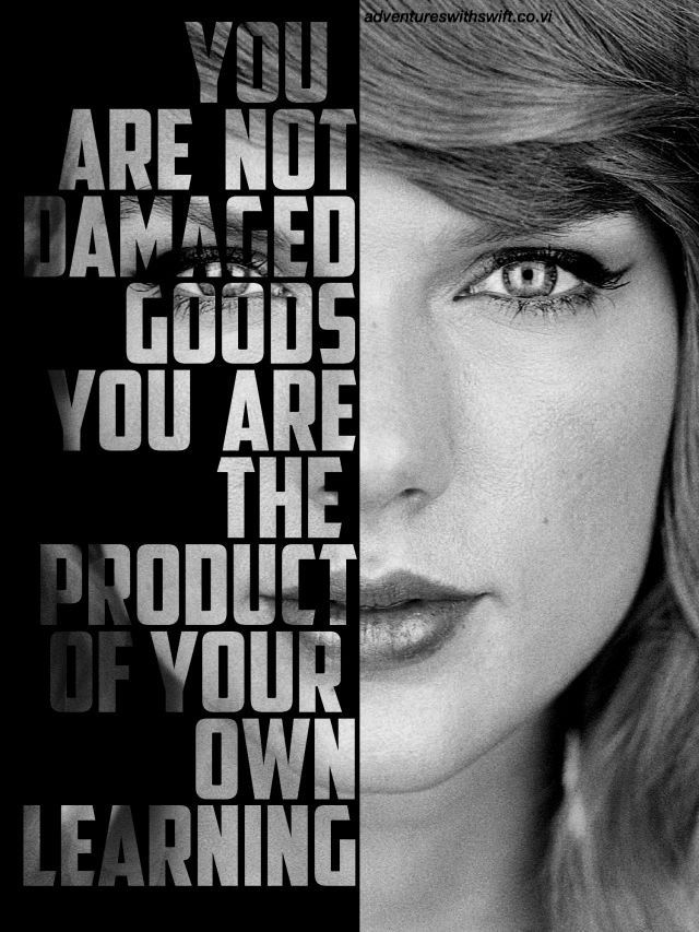 I lost it when she said this at the 1989 tour last night