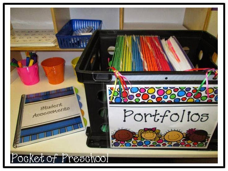 Preschool and Pre-K Portfolio and Assessment Organization