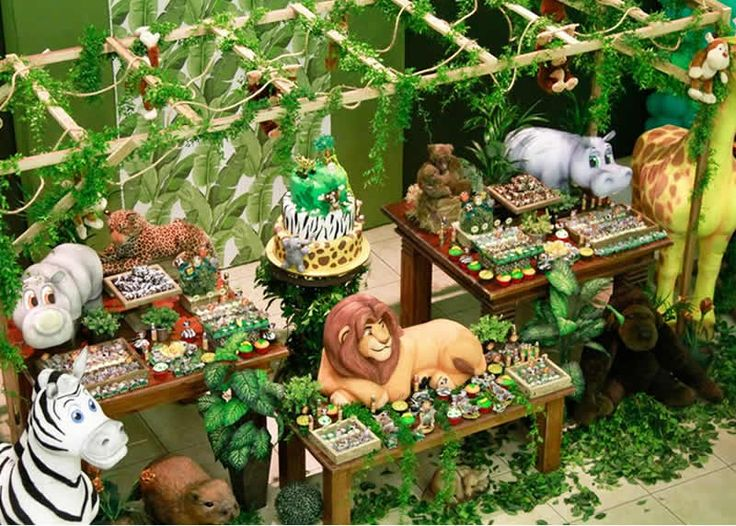 king of the jungle birthday party 11