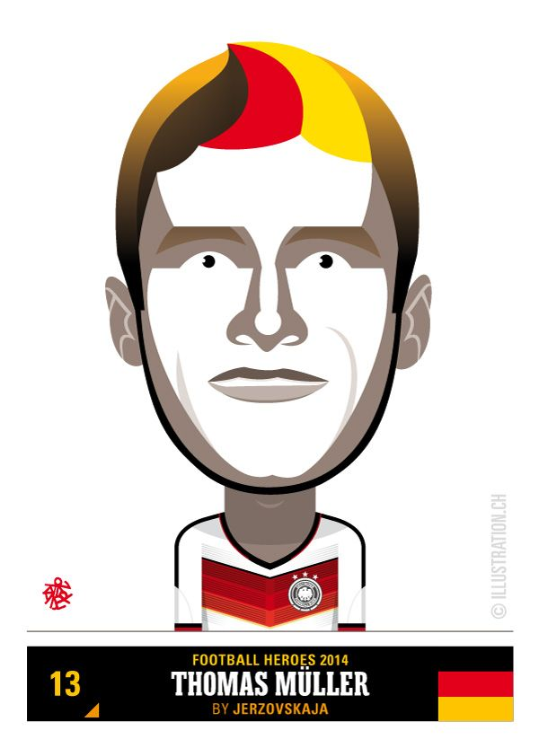 Thomas Müller – Team Germany – Football Heroes 2014