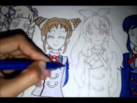Aikatsu Drawing