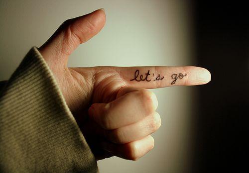 this way...