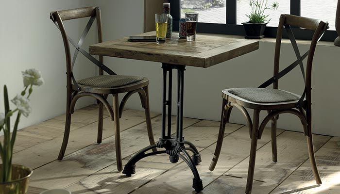 table bistrot ronde marbre maison design. Black Bedroom Furniture Sets. Home Design Ideas