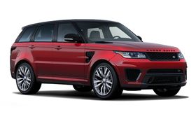 The  Range Rover Sport Supercharged / SVR