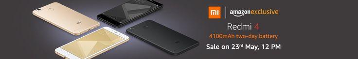 Buy Xiaomi Redmi 4 Online at 6,999 Amazon India