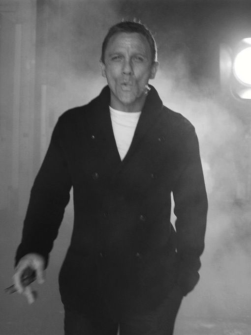 "Daniel Craig. ""BOND  ... James Bond""    http://www.amazon.com/Got-Any-Kahlua-Collected-Recipes/dp/1478252650/ref=sr_1_1?s=books=UTF8=1354082873=1-1=got+any+kahlua"
