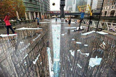 3D street art~ Amazing!!